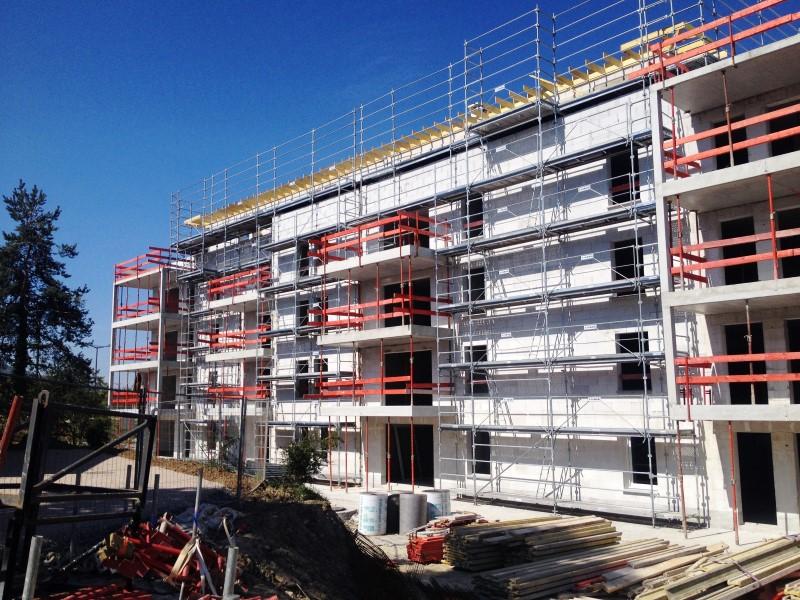 Construction de 130 logements neufs sciez 74 for Construction de logements neufs