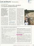 Article Journal du BTP Chateau de la Chaize sept 2019